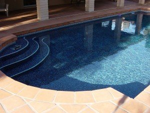 Custom Pool Tiling is Just one of our Many Design Services | (480) 726-0011