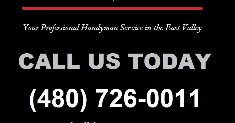What Can a Handyman in Chandler Do For You?